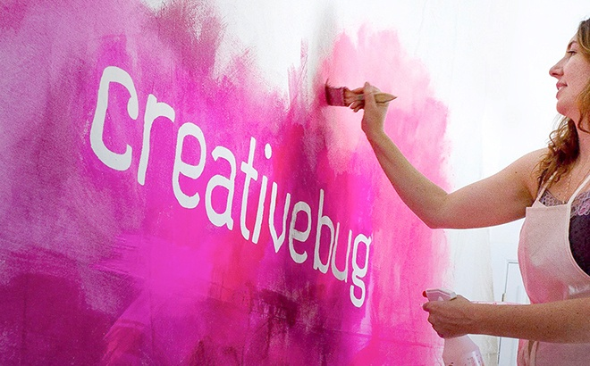 3 Months of Creativebug Classes for $1
