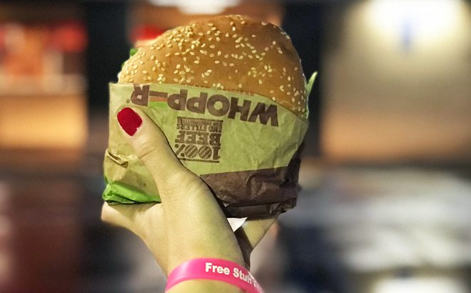 Burger King Whopper $1 - Today Only!