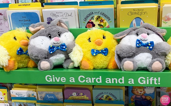 FREE Plush Toy with 3 Greeting Cards Purchase