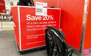 Target Car Seat Trade-In Event: 20% Off New Baby Gear