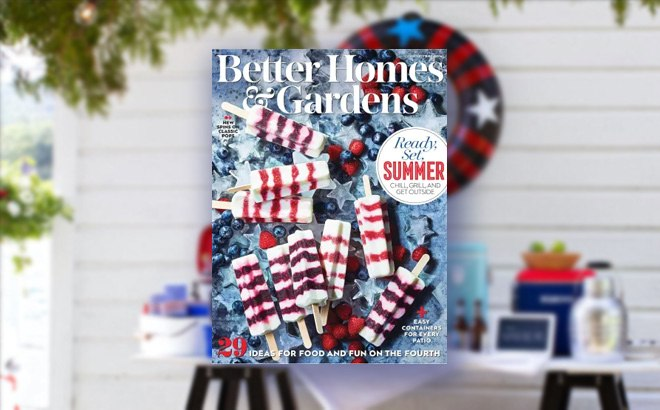 FREE 2-Year Better Homes & Gardens Subscription ($10 Value)