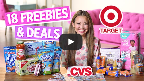 VIDEO: 18 FREEBIES & Deals from Target & CVS This Week (6/16 – 6/22)