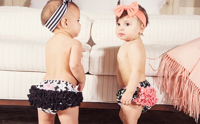 *HOT* 3 FREE Ruffled Diaper Covers (Just Pay Shipping) - Cute Baby Shower Gift!