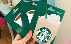 Possible $10 Starbucks Gift Card for $5!