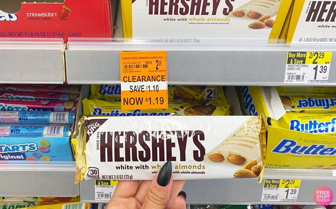Walgreens Clearance: KitKat or Hershey's $1.19