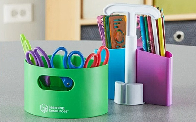 Learning Resources Mini Storage $6
