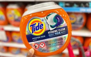 Tide Pods 21-Count $5.61 Each!
