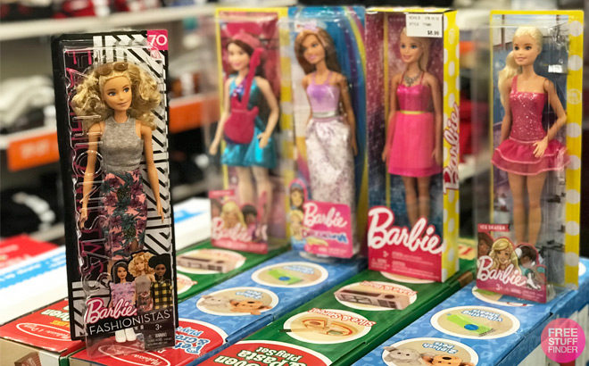 Up to 70% Off Barbie, Fisher-Price & Hot Wheels Toys at Amazon (Today Only)